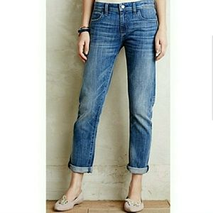 Anthropologie Pilcro Letterpress Jeans Hyphen Fit